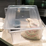 "Carlisle 1062707 Food Storage Lid - 26x18"" Clear"