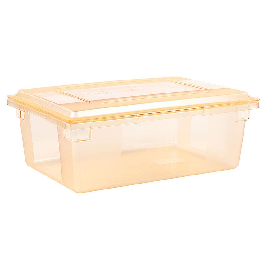 "Carlisle 10627C22 Food Storage Lid - 26x18"" Yellow"