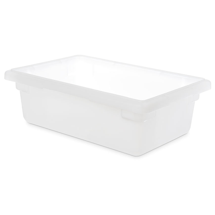 "Carlisle 1063102 3-1/2-gal Food Storage Box - 18x12x6"" White"