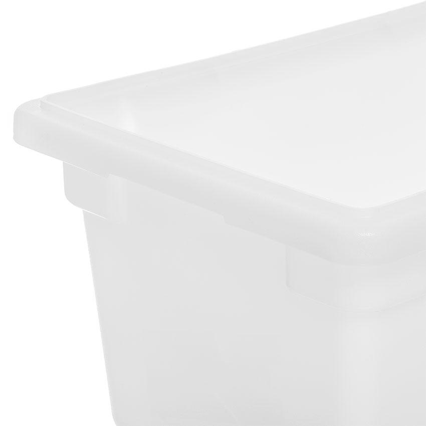 "Carlisle 1063202 5-1/2-gal Food Storage Box - 18x12x9"" White"
