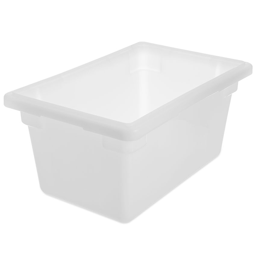 "Carlisle 1063202 5-1/2-gal Food Storage Box - 18x12x9"" White"