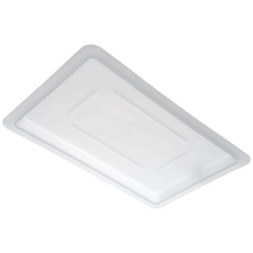 "Carlisle 1063702 Food Storage Lid - 18x12"" White"