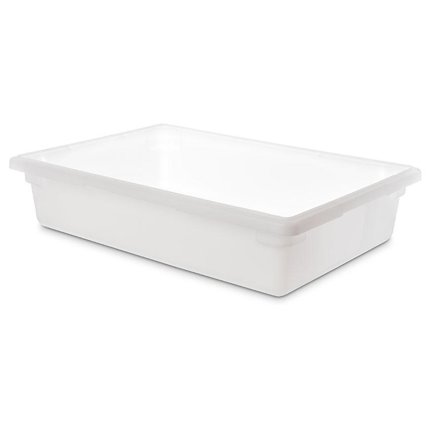 "Carlisle 1064102 8-1/2-gal Food Storage Box - 26x18x6"" White"