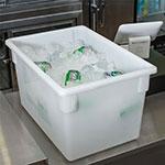 "Carlisle 1064402 21-1/2-gal Food Storage Box - 26x18x15"" White"
