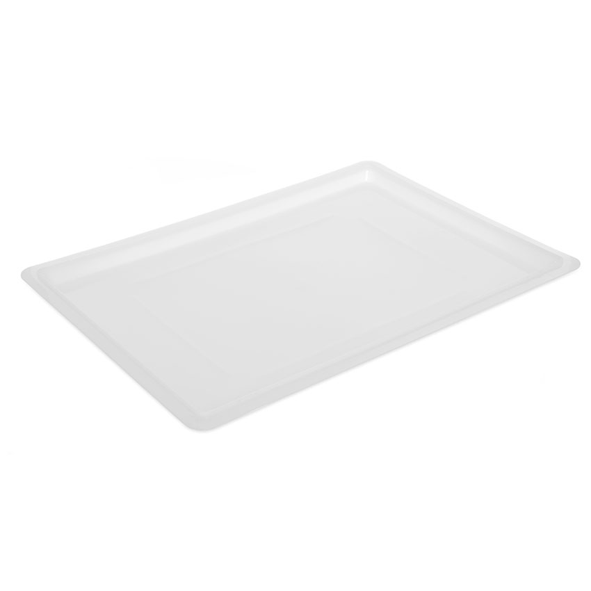 "Carlisle 1064702 Food Storage Lid - 26x18"" White"