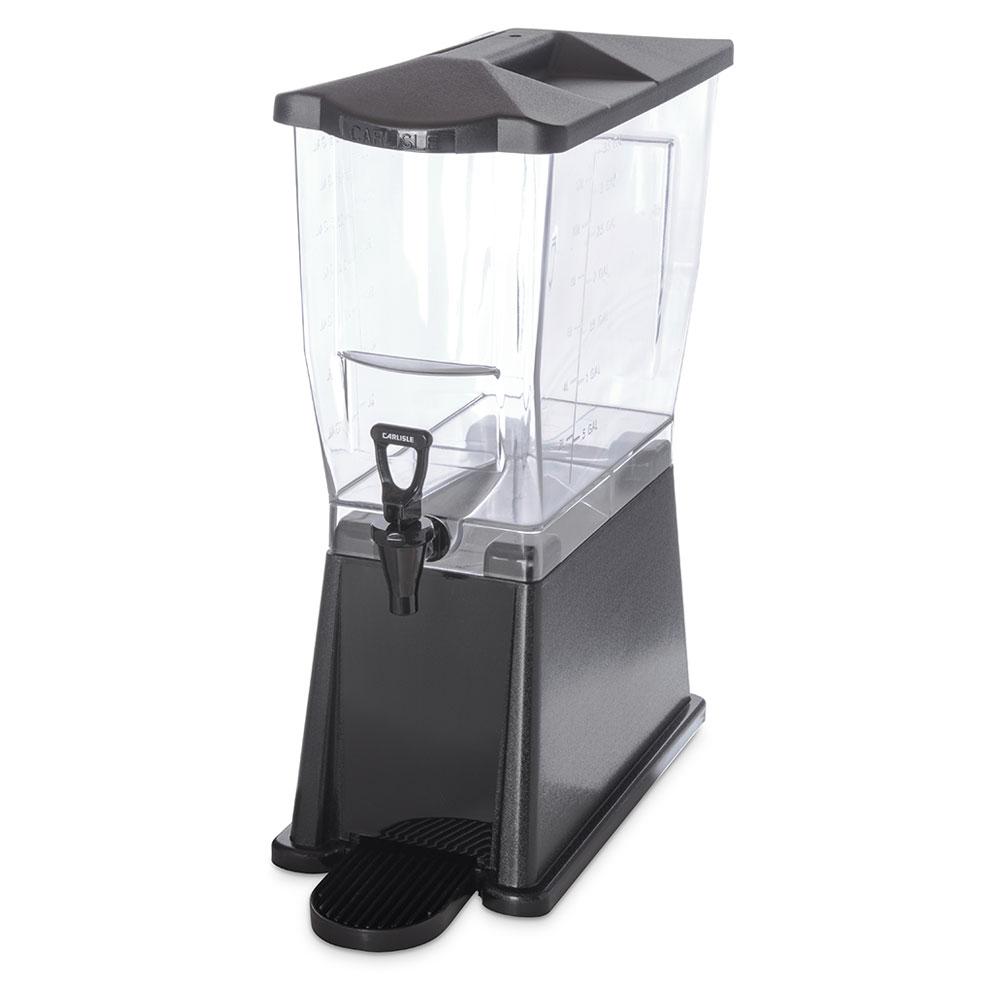 Carlisle 1085003 3-gal Premium Beverage Server - Clear/Black