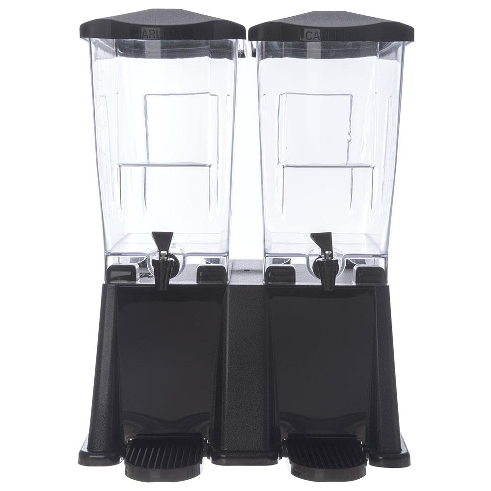 Carlisle 1085303 6-gal Economy Beverage Server - Clear/Black
