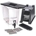 Carlisle 1085403 3-gal Premium Beverage Server - Translucent/Black
