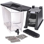 Carlisle 1085603 3-gal Economy Beverage Server - Translucent/Black