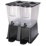 Carlisle 1085703 6-gal Economy Beverage Server - Translucent/Black