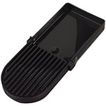 Carlisle 1086103 Beverage Dispenser Drip Tray - Black