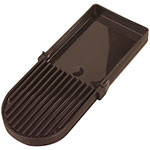 Carlisle 1086169 Beverage Dispenser Drip Tray - Brown