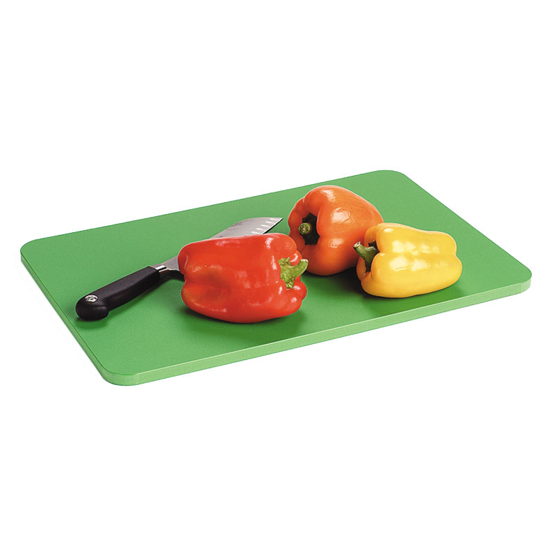"Carlisle 1088000 Poly Cutting Board Pack - 12x18x1/2"" Multi-Color"