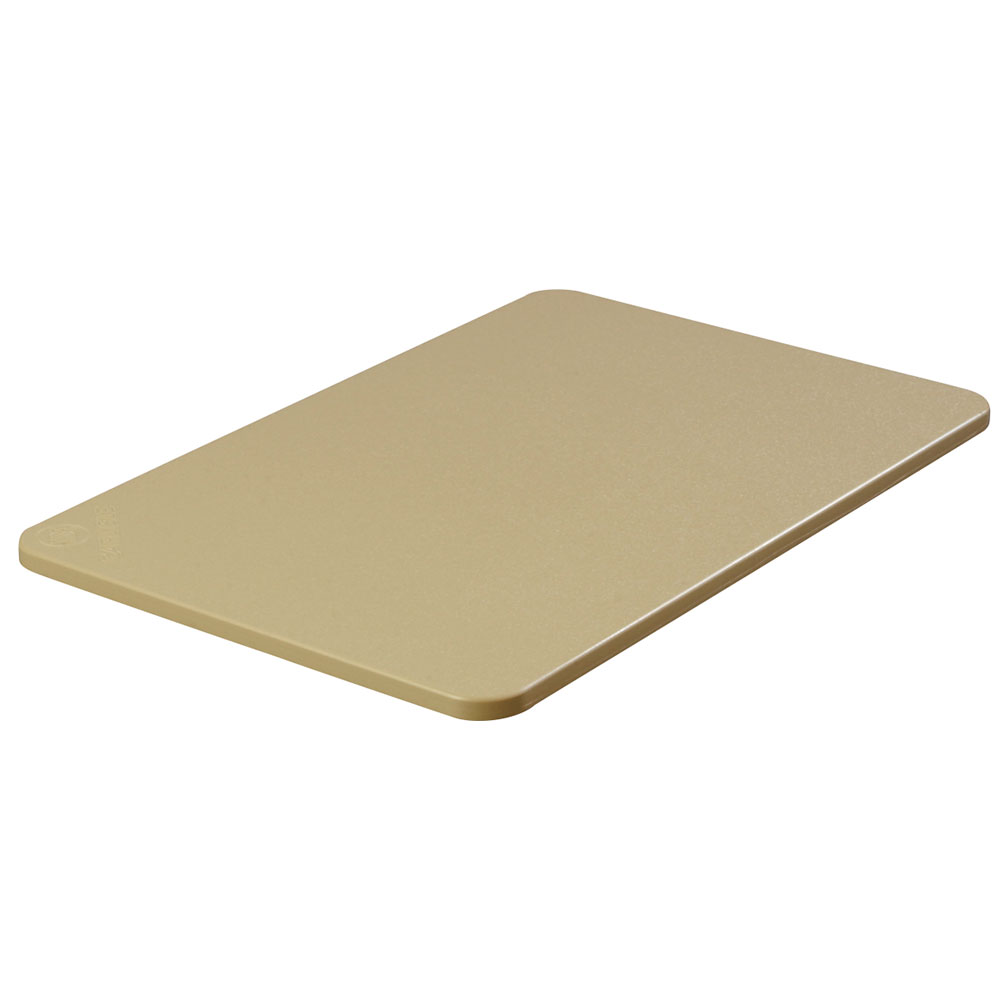 "Carlisle 1088525 Poly Cutting Board - 15x20x1/2"" Tan"
