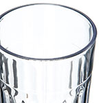 Carlisle 110407 4-oz Bistro Tumbler - Fluted, Clear