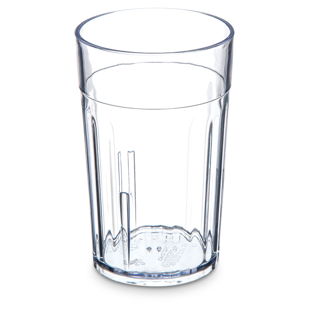 Carlisle 110507 5-oz Bistro Tumbler - Fluted, Clear