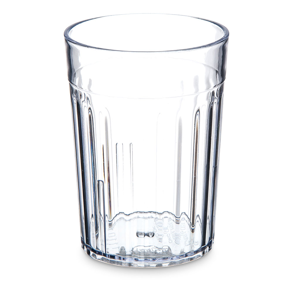 Carlisle 111007 10-oz Bistro Tumbler - Fluted, Clear