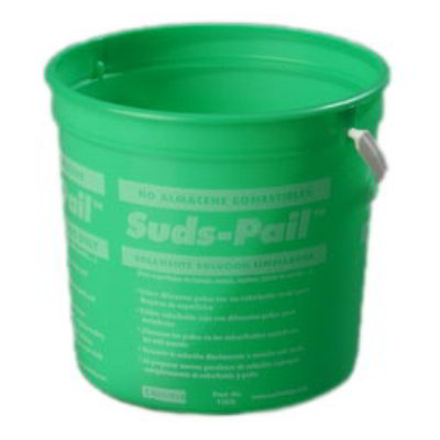 Carlisle Food Service 1182509 2 1/2-qt Sanitizer Pail w/ Instructions Green Plastic Restaurant Supply