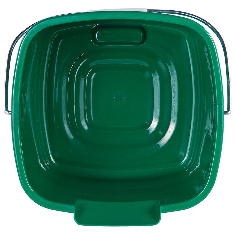 Carlisle 1183309 8-qt Square Cleaning Pail - Green