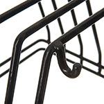 Carlisle 1187903 Board/Brush Rack - Black