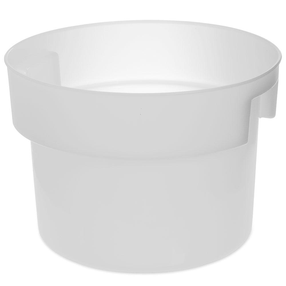Carlisle 120002 12-qt Round Bain Marie Container - White