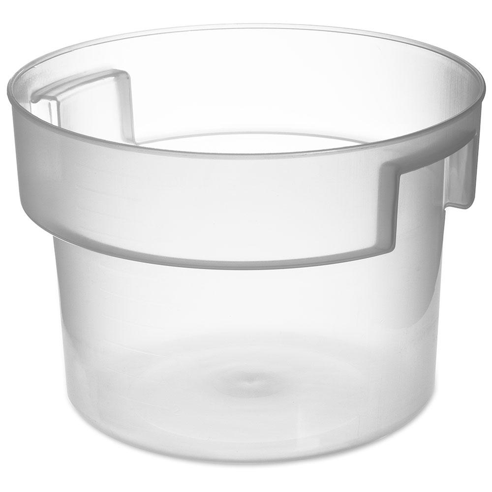 Carlisle 120530 12-qt Round Bain Marie Container - Translucent