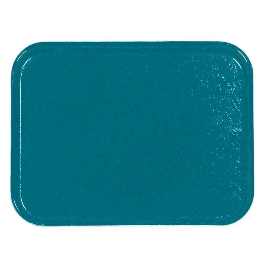 Carlisle 1212FG006 Rectangular Cafeteria Tray - 32.5x26.5cm, Ultramarine