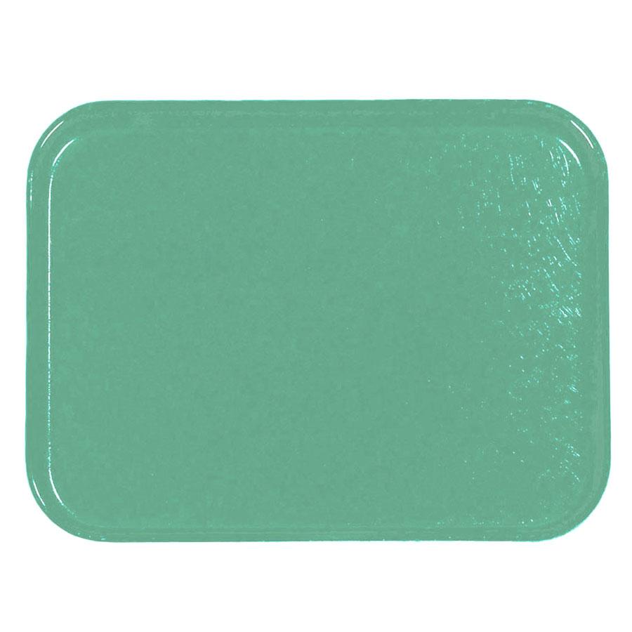 Carlisle 1212FG007 Rectangular Cafeteria Tray - 32.5x26.5cm, Tropical Green