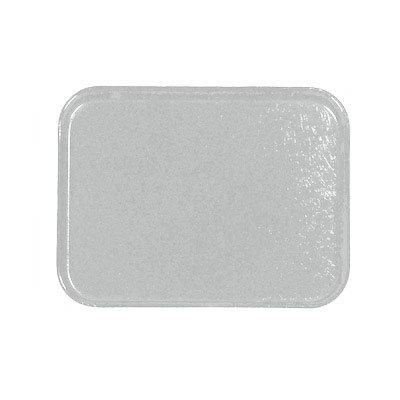 Carlisle 1212FG068 Rectangular Cafeteria Tray - 32.5x26.5cm, Gray