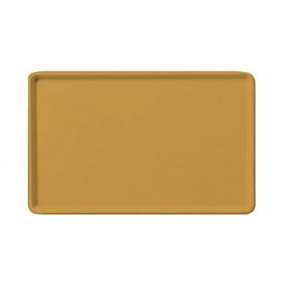 "Carlisle 1219LFG023 Rectangular Cafeteria Tray - 19x12"" Gold"