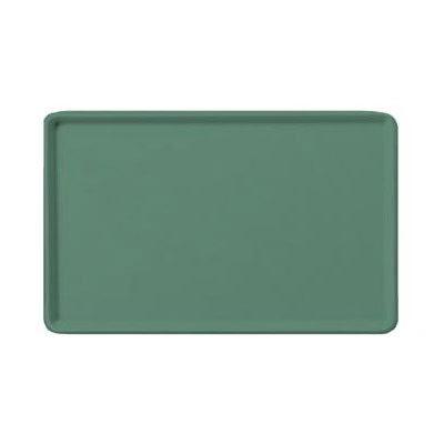 """Carlisle 1219LFG053 Rectangular Cafeteria Tray - 19x12"""" Jade"""