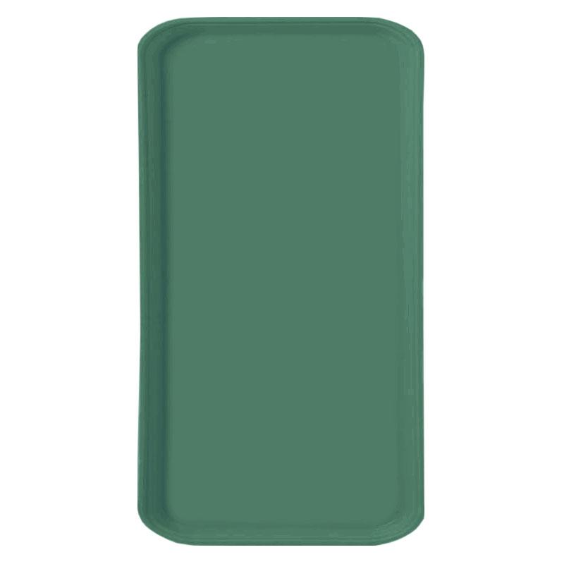 Carlisle 1220FG053 Rectangular Cafeteria Tray - 53cmx32.5cm, Jade