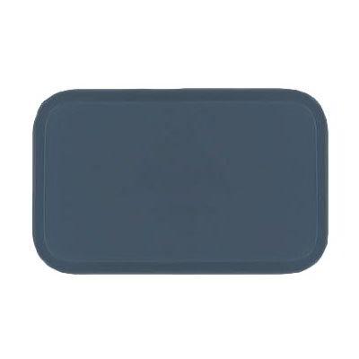 Carlisle 1220FG067 Rectangular Cafeteria Tray - 53cmx32.5cm, Slate Blue