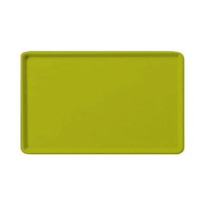 "Carlisle 1222LFG008 Rectangular Cafeteria Tray - 21x12"" Avocado"