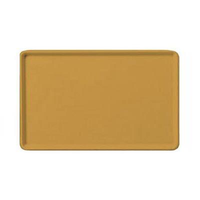 "Carlisle 1222LFG023 Rectangular Cafeteria Tray - 21x12"" Gold"