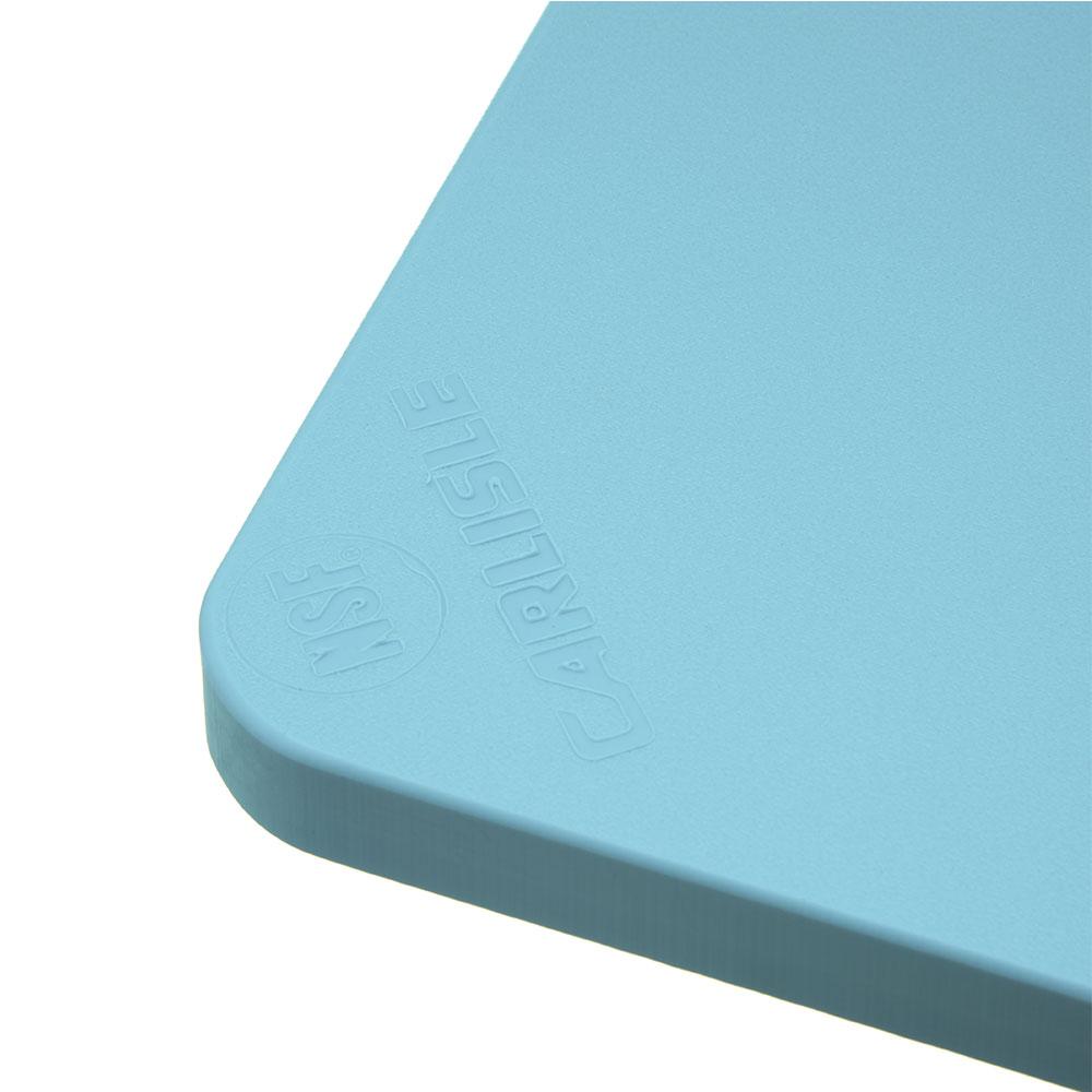 """Carlisle 1288214 Poly Cutting Board - 12x18x3/4"""" Blue"""
