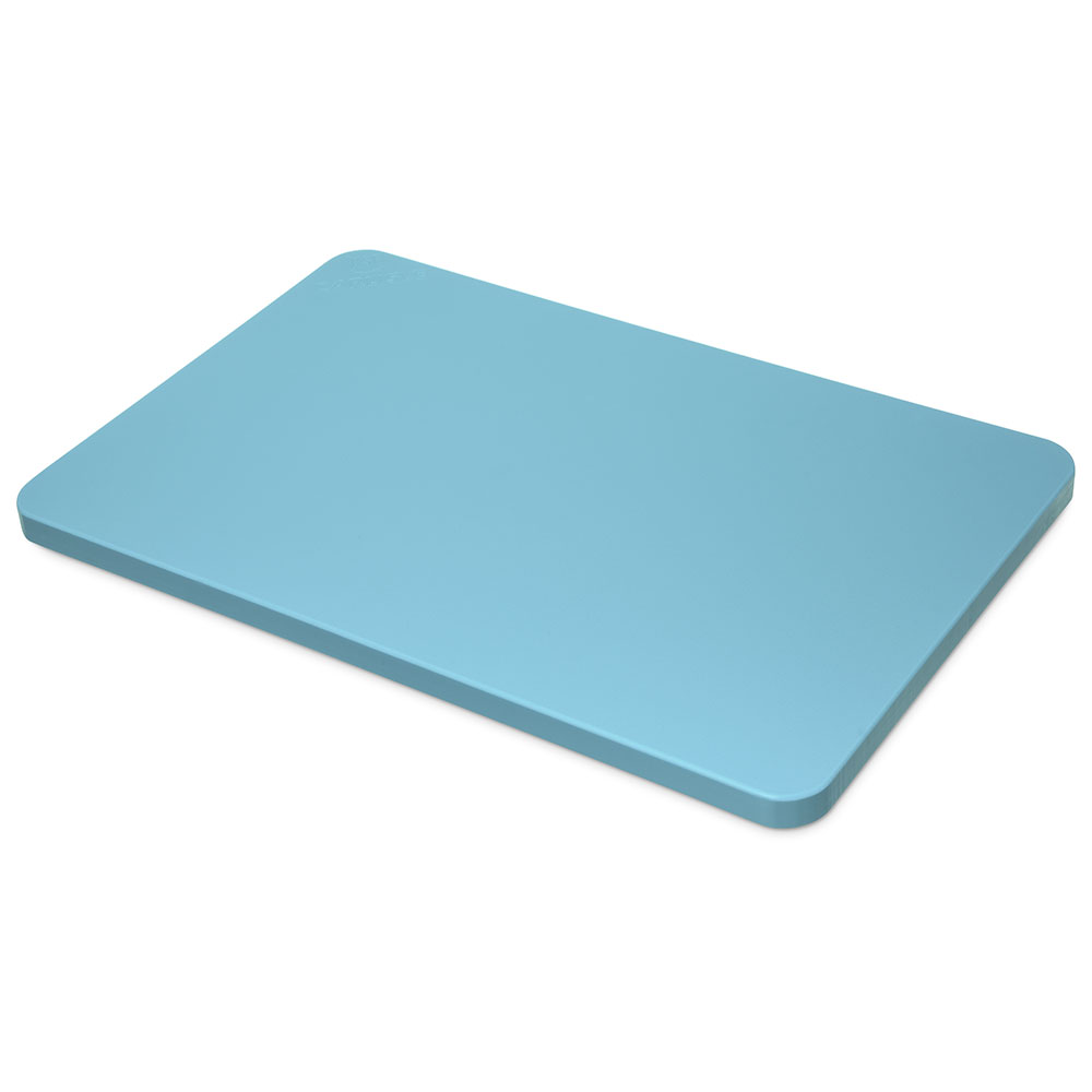 "Carlisle 1288214 Poly Cutting Board - 12x18x3/4"" Blue"