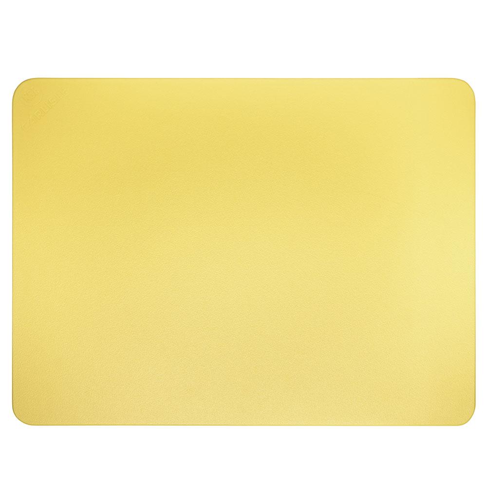 """Carlisle 1288704 Poly Cutting Board - 15x20x3/4"""" Yellow"""