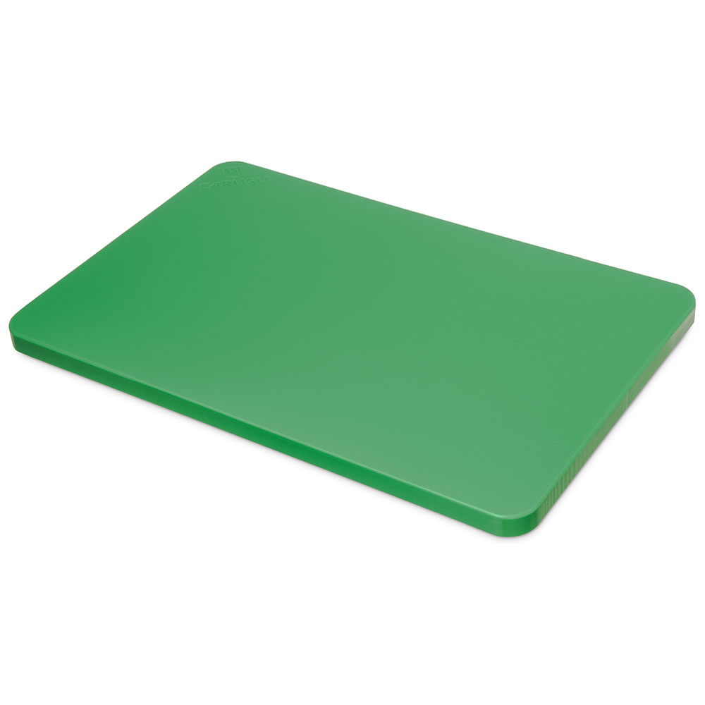 "Carlisle 1288709 Poly Cutting Board - 15x20x3/4"" Green"