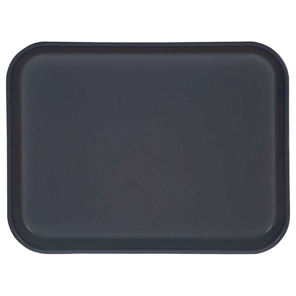 "Carlisle 1410FG067 Rectangular Cafeteria Tray - 13-3/4x10-5/8"" Slate Blue"