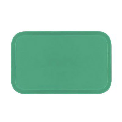Carlisle 1419FG007 Rectangular Cafeteria Tray - 38.5x50cm, Tropical Green