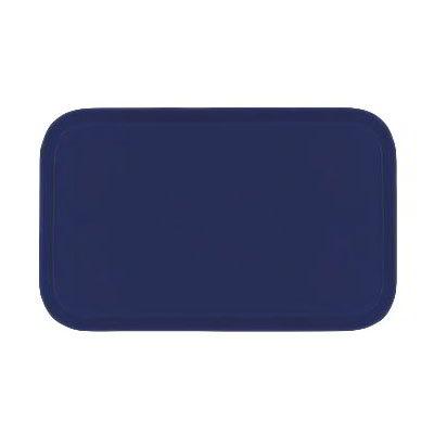 Carlisle 1419FG014 Rectangular Cafeteria Tray - 38.5x50cm, Cobalt Blue