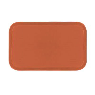 Carlisle 1419FG018 Rectangular Cafeteria Tray - 38.5x50cm, Orange