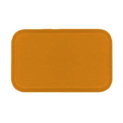 Carlisle 1419FG019 Rectangular Cafeteria Tray - 38.5x50cm, Rust