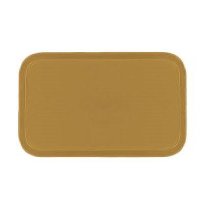 Carlisle 1419FG023 Rectangular Cafeteria Tray - 38.5x50cm, Gold