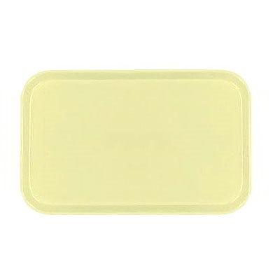 Carlisle 1419FG024 Rectangular Cafeteria Tray - 38.5x50cm, Lemon