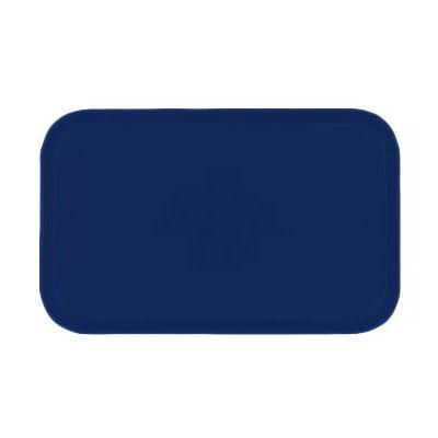 Carlisle 1419FG050 Rectangular Cafeteria Tray - 38.5x50cm, Sapphire Blue