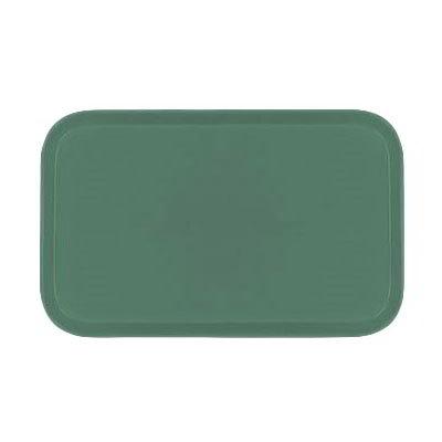 Carlisle 1419FG053 Rectangular Cafeteria Tray - 38.5x50cm, Jade