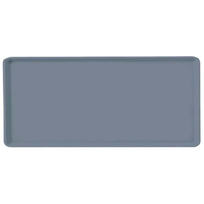 Carlisle 1419FG067 Rectangular Cafeteria Tray - 38.5x50cm, Slate Blue