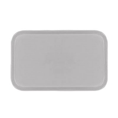Carlisle 1419FG068 Rectangular Cafeteria Tray - 38.5x50cm, Gray